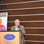 Борис Ройтблат, генеральный директор НП СРОП «Западная Сибирь», приветствует участников конференции