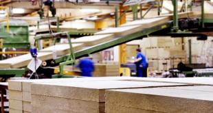 Vamdrup Denmark RockwoolBattsFactory PlantProduction